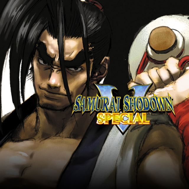 Front boxart of the game Samurai Shodown V Special (United States) on Sony PS Vita