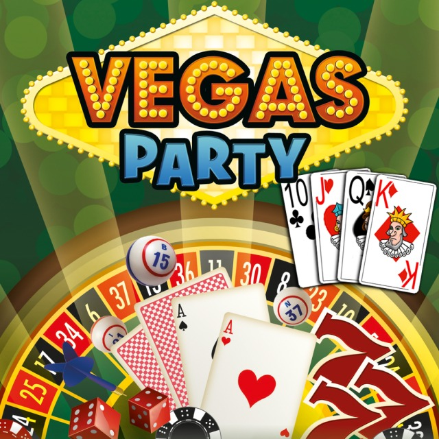 Front boxart of the game Vegas Party (Europe) on Sony PS Vita