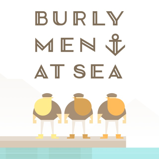 Front boxart of the game Burly Men At Sea (Australia) on Sony PS Vita