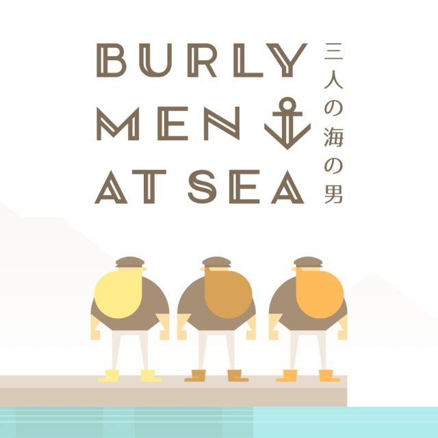 Front boxart of the game Burly Men At Sea (Japan) on Sony PS Vita
