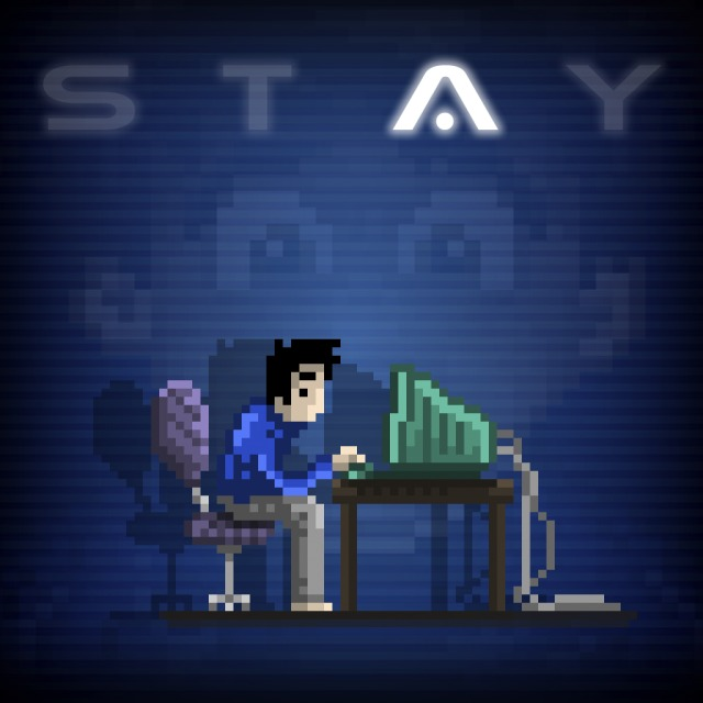 Front boxart of the game STAY (Australia) on Sony PS Vita
