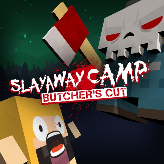 Front boxart of the game Slayaway Camp - Butcher's Cut (Australia) on Sony PS Vita
