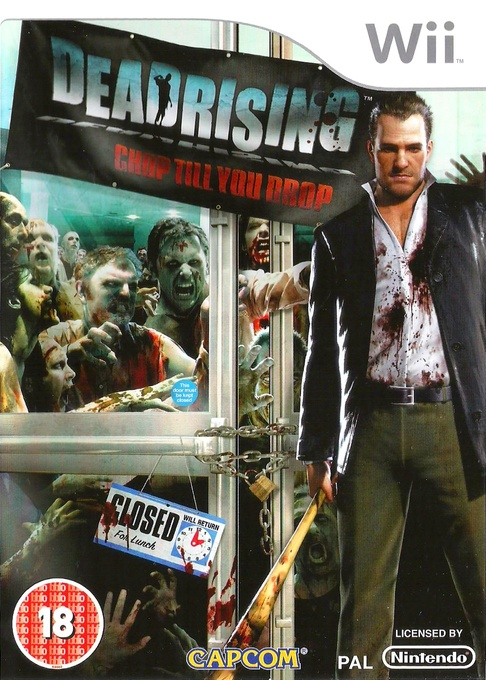 Front boxart of the game Dead Rising - Chop Till You Drop (Europe) on Nintendo Wii