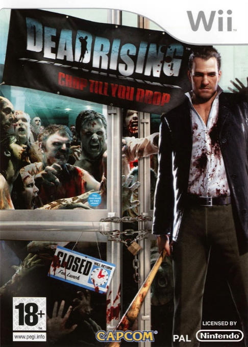 Front boxart of the game Dead Rising - Chop Till You Drop (France) on Nintendo Wii