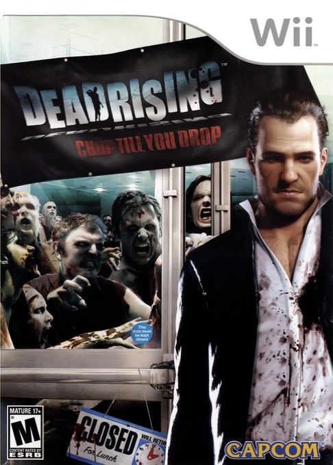 Front boxart of the game Dead Rising - Chop Till You Drop (United States) on Nintendo Wii