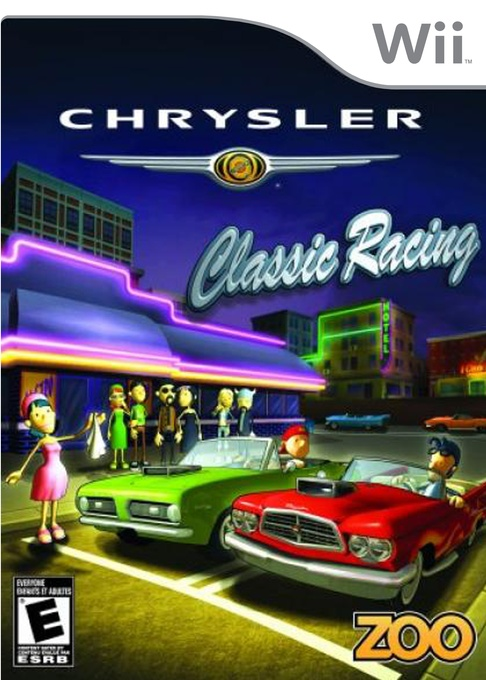 Front boxart of the game Chrysler Classic Racing (United States) on Nintendo Wii