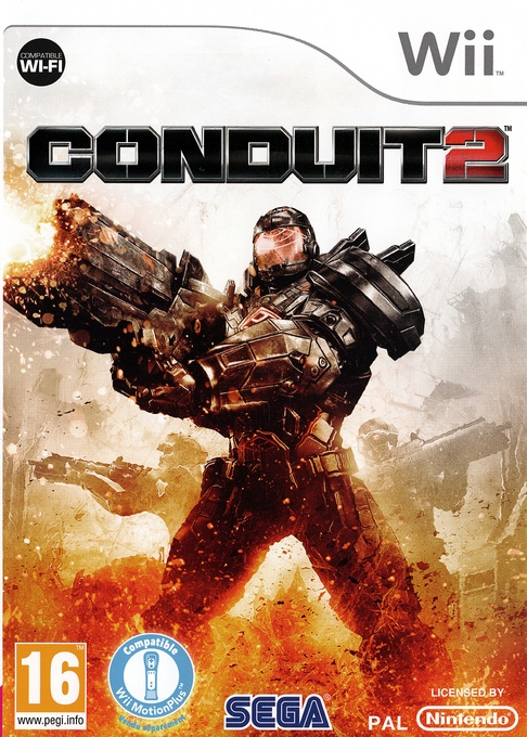 Front boxart of the game Conduit 2 (France) on Nintendo Wii