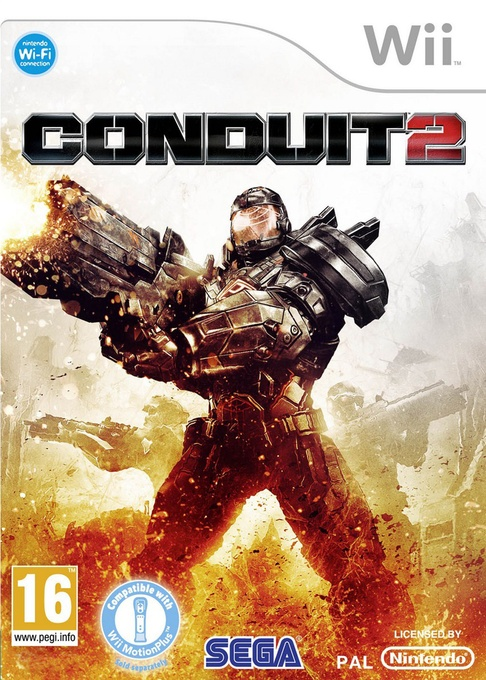 Front boxart of the game Conduit 2 (Italy) on Nintendo Wii