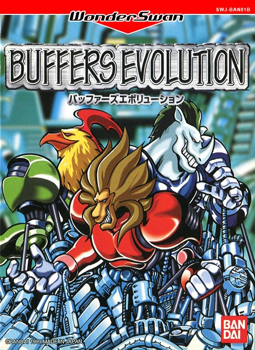 Front boxart of the game Buffers Evolution (Japan) on Bandai WonderSwan