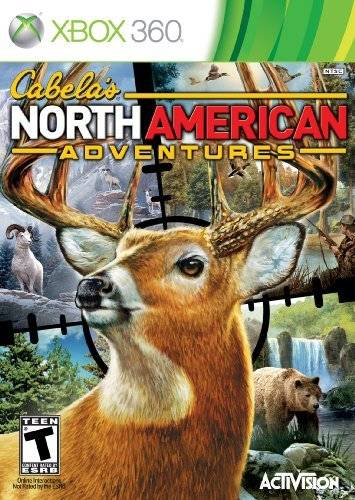 Front boxart of the game Cabela's North American Adventures (United States) on Microsoft Xbox 360