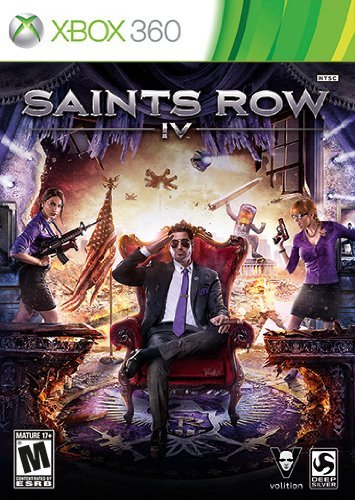 Front boxart of the game Saints Row IV (United States) on Microsoft Xbox 360