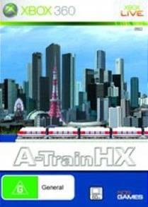Front boxart of the game A-Train HX (Australia) on Microsoft Xbox 360