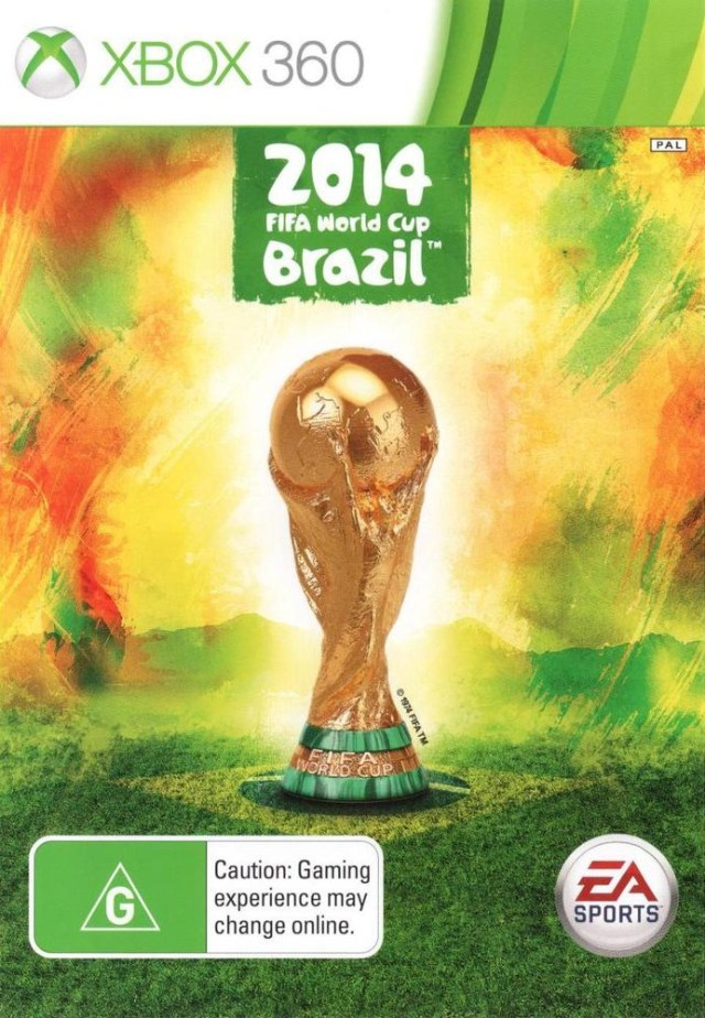 Front boxart of the game 2014 FIFA World Cup Brazil (Australia) on Microsoft Xbox 360