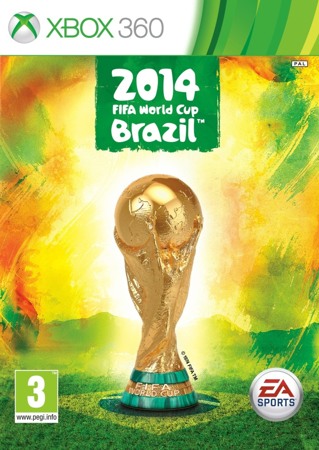 Front boxart of the game 2014 FIFA World Cup Brazil (Europe) on Microsoft Xbox 360