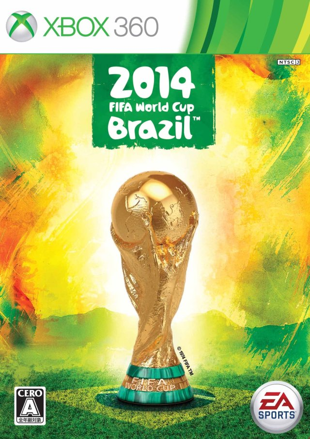 Front boxart of the game 2014 FIFA World Cup Brazil (Japan) on Microsoft Xbox 360