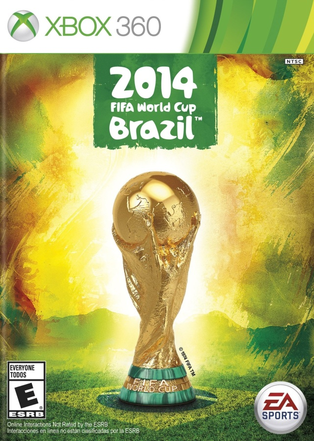 Front boxart of the game 2014 FIFA World Cup Brazil (United States) on Microsoft Xbox 360