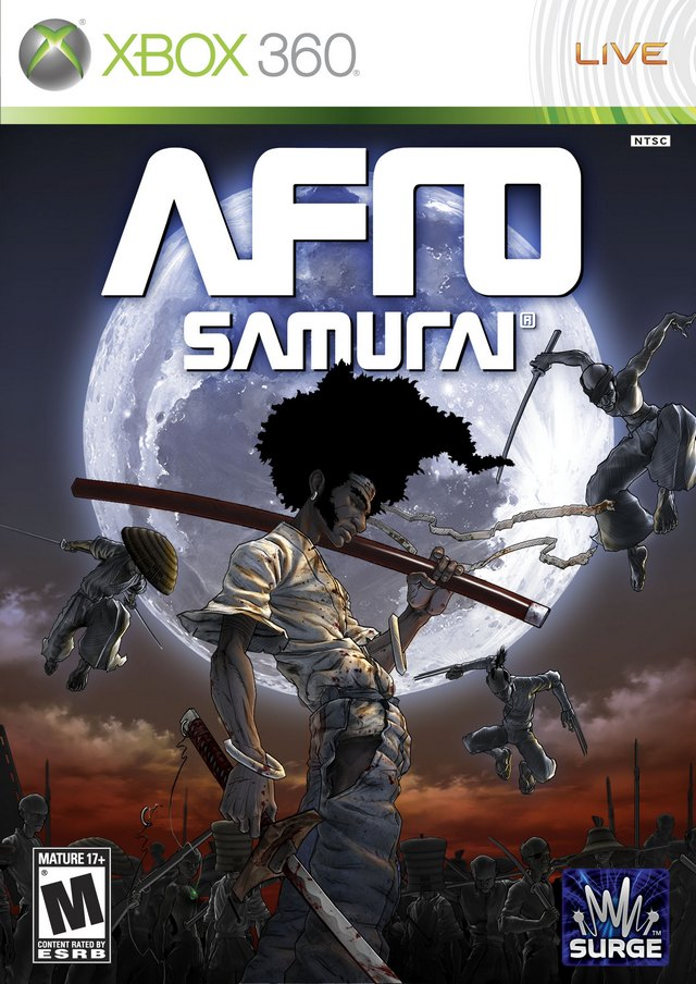 Front boxart of the game Afro Samurai (United States) on Microsoft Xbox 360