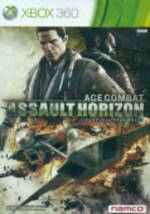 Front boxart of the game Ace Combat - Assault Horizon (Asia) on Microsoft Xbox 360