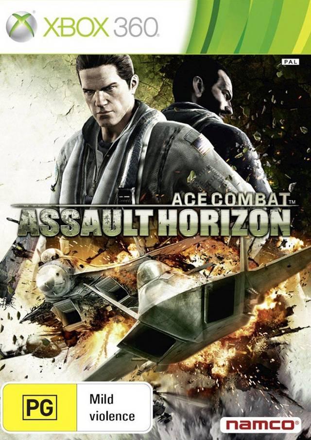 Front boxart of the game Ace Combat - Assault Horizon (Australia) on Microsoft Xbox 360