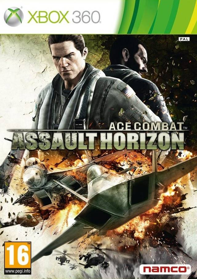 Front boxart of the game Ace Combat - Assault Horizon (Europe) on Microsoft Xbox 360