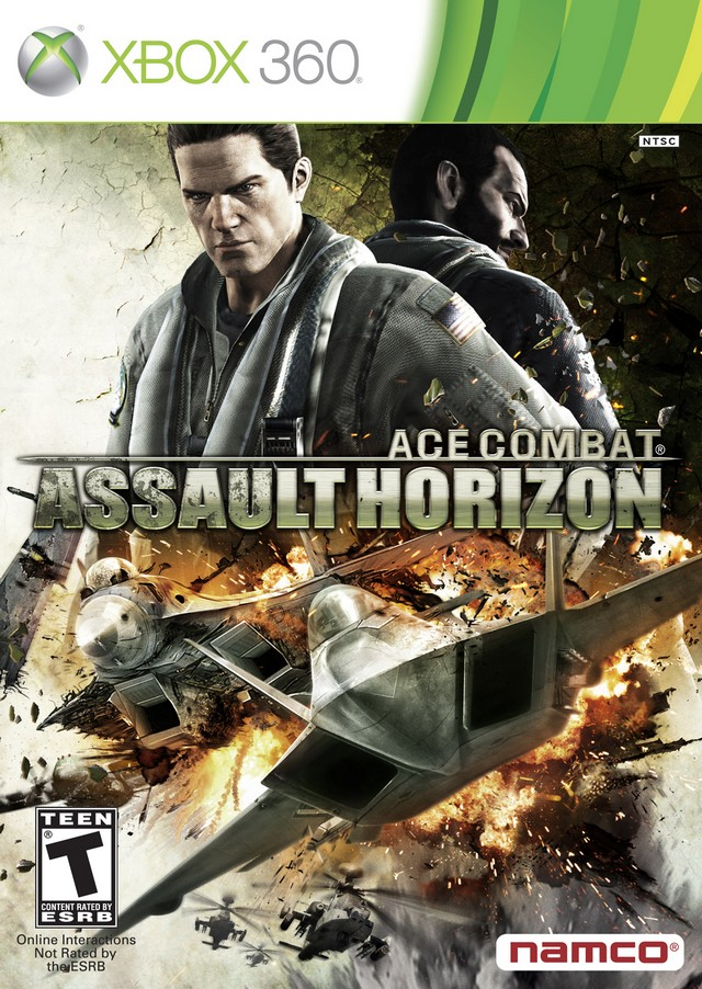 Front boxart of the game Ace Combat - Assault Horizon (United States) on Microsoft Xbox 360
