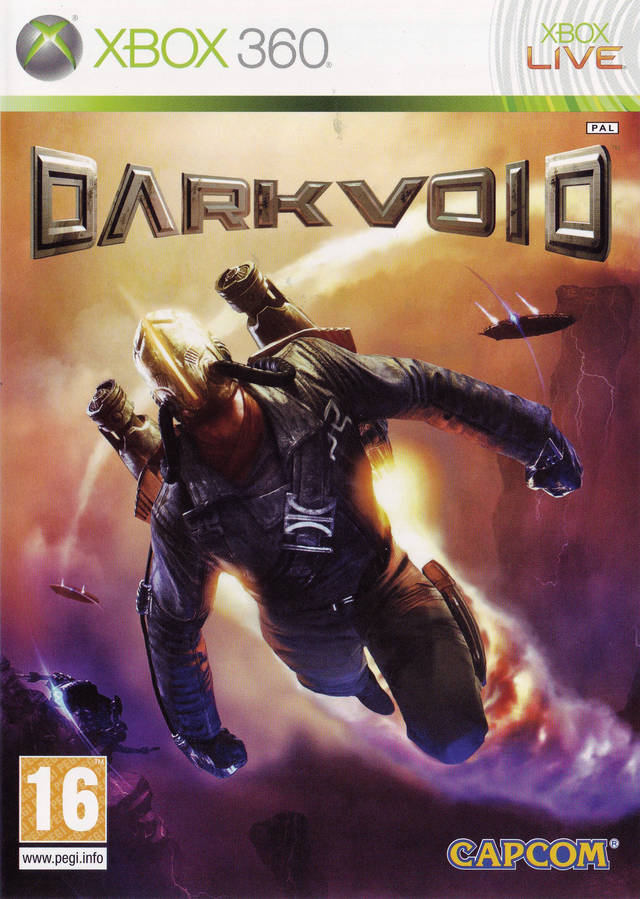 Front boxart of the game Dark Void (Europe) on Microsoft Xbox 360