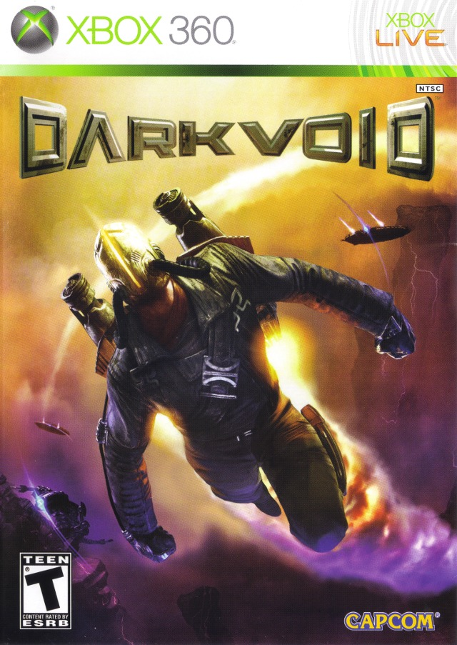 Front boxart of the game Dark Void (United States) on Microsoft Xbox 360