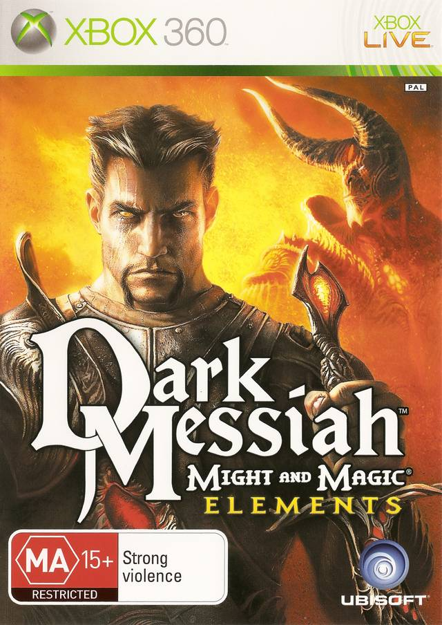 Front boxart of the game Dark Messiah of Might and Magic - Elements (Australia) on Microsoft Xbox 360