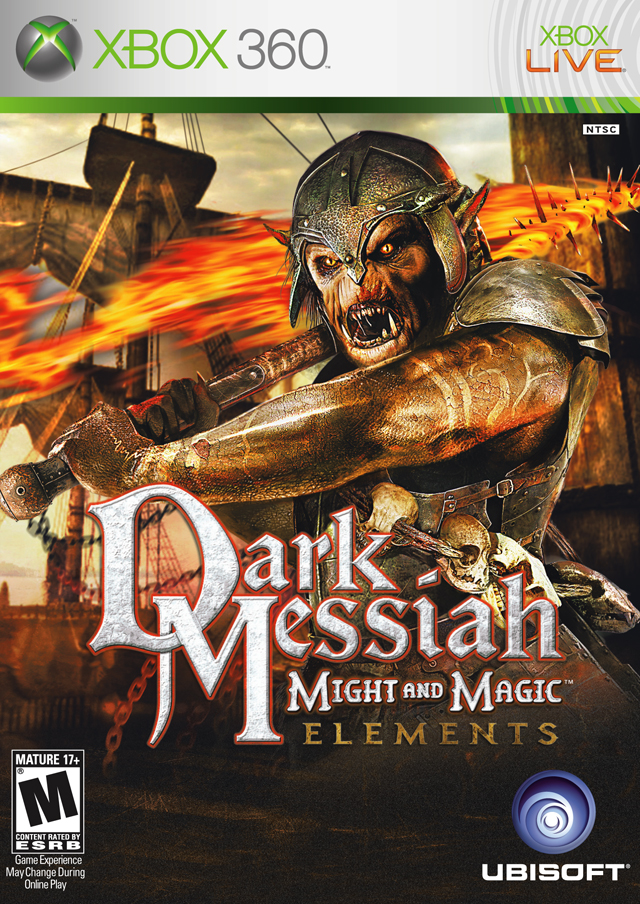 Front boxart of the game Dark Messiah of Might and Magic - Elements (United States) on Microsoft Xbox 360