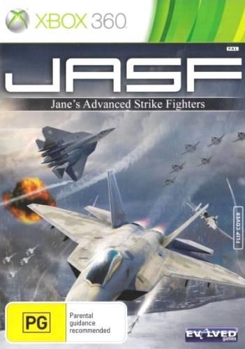 Front boxart of the game JASF - Jane's Advanced Strike Fighters (Australia) on Microsoft Xbox 360