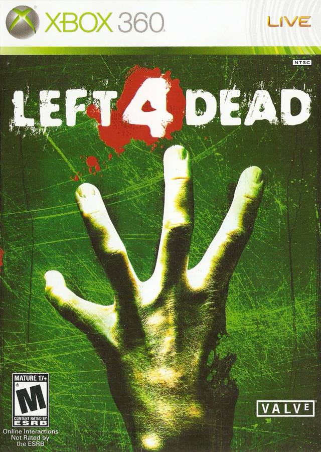 Left 4 Dead for Microsoft Xbox 360 - The Video Games Museum