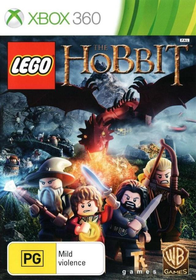 Front boxart of the game LEGO The Hobbit (Australia) on Microsoft Xbox 360
