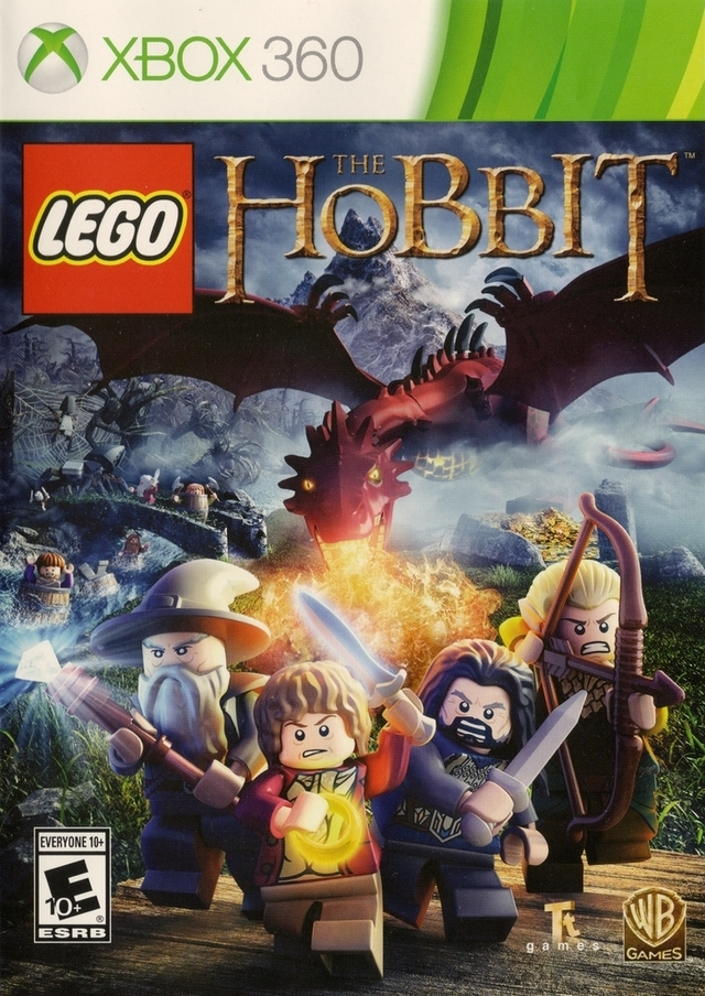 Front boxart of the game LEGO The Hobbit (United States) on Microsoft Xbox 360