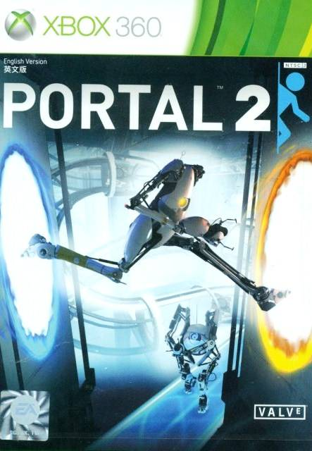 Front boxart of the game Portal 2 (Asia) on Microsoft Xbox 360