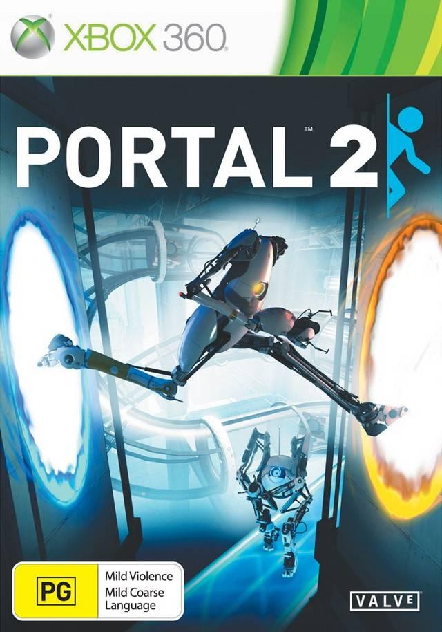 Front boxart of the game Portal 2 (Australia) on Microsoft Xbox 360