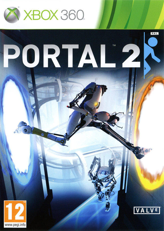 Front boxart of the game Portal 2 (Europe) on Microsoft Xbox 360