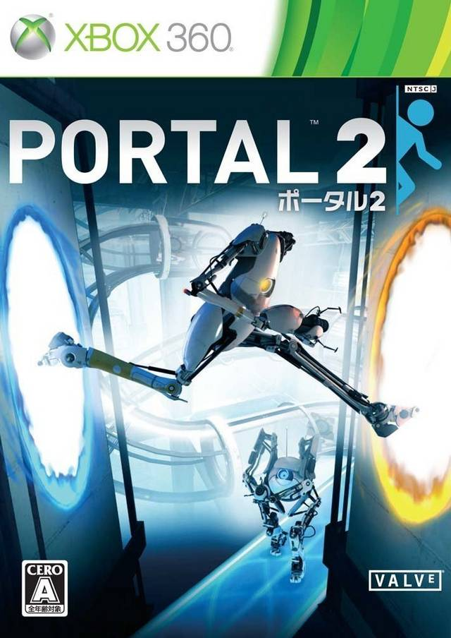 Front boxart of the game Portal 2 (Japan) on Microsoft Xbox 360