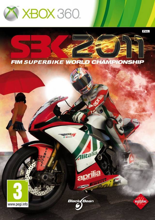 Front boxart of the game SBK 2011 (Europe) on Microsoft Xbox 360