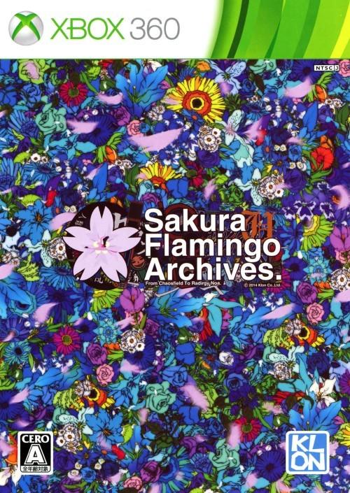Front boxart of the game Sakura Flamingo Archives (Japan) on Microsoft Xbox 360