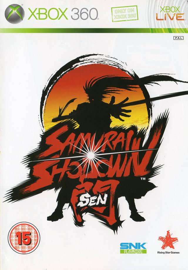 Front boxart of the game Samurai Shodown Sen (Europe) on Microsoft Xbox 360