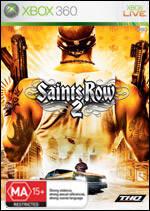 Front boxart of the game Saints Row 2 (Australia) on Microsoft Xbox 360