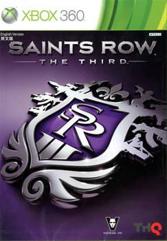 Front boxart of the game Saints Row - The Third (Asia) on Microsoft Xbox 360