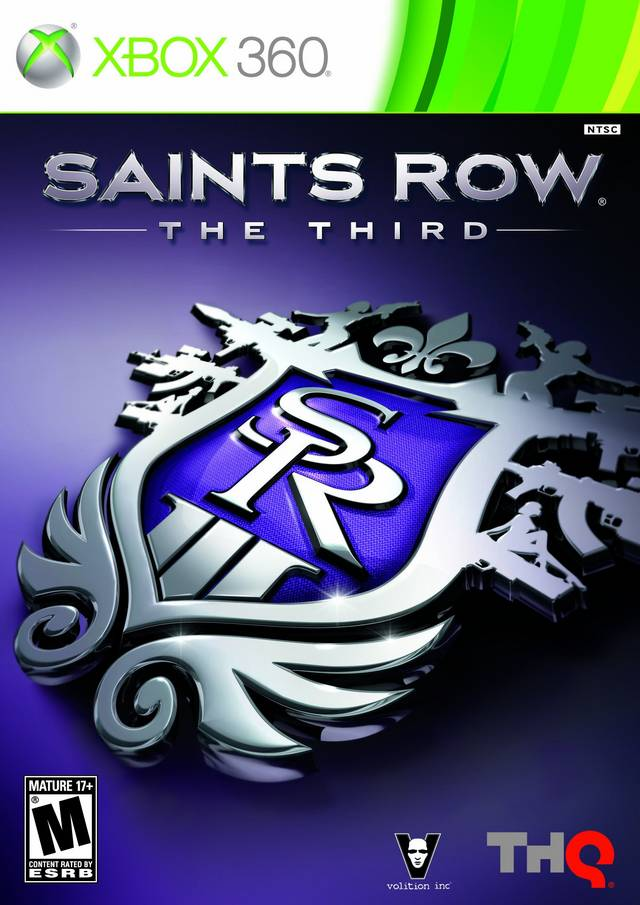Front boxart of the game Saints Row - The Third (United States) on Microsoft Xbox 360