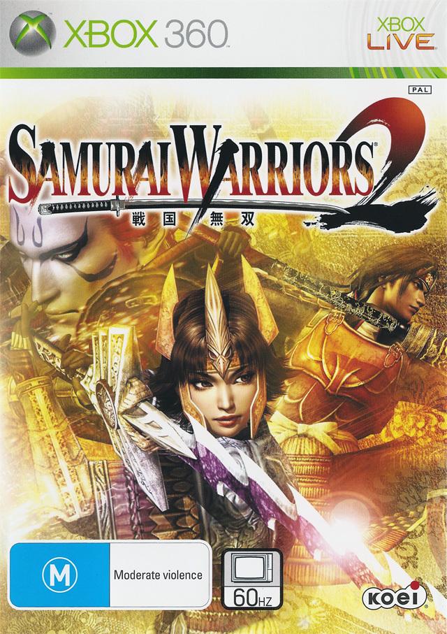 Front boxart of the game Samurai Warriors 2 (Australia) on Microsoft Xbox 360