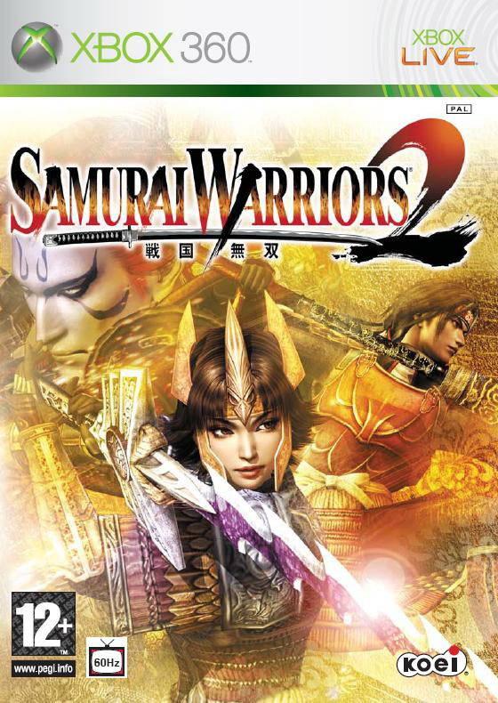 Front boxart of the game Samurai Warriors 2 (Europe) on Microsoft Xbox 360