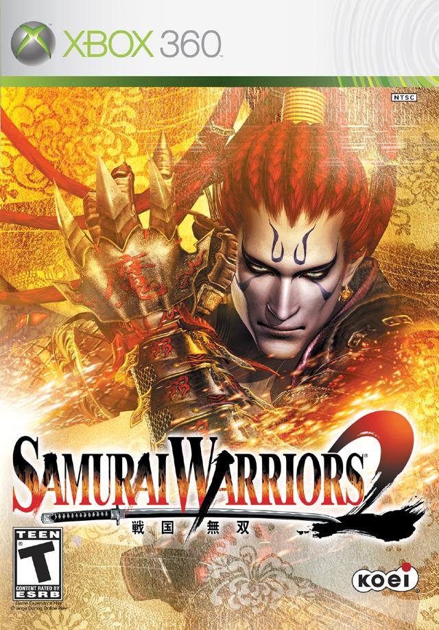Front boxart of the game Samurai Warriors 2 (United States) on Microsoft Xbox 360