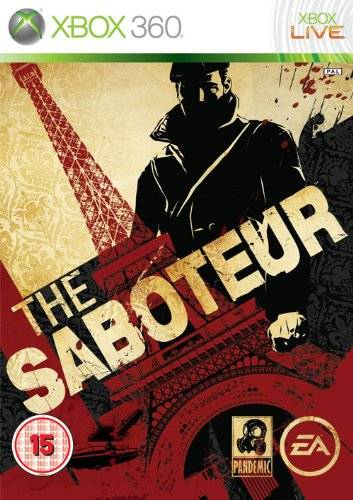 Front boxart of the game Saboteur, The (Europe) on Microsoft Xbox 360
