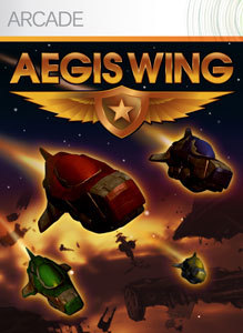 Front boxart of the game Aegis Wing (United States) on Microsoft Xbox 360