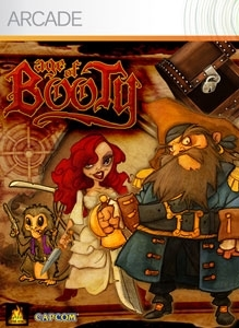 Front boxart of the game Age of Booty (United States) on Microsoft Xbox 360