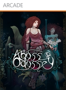Front boxart of the game Abyss Odyssey (United States) on Microsoft Xbox 360
